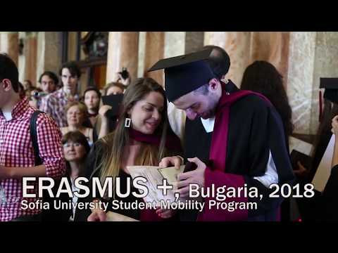 ERASMUS +, SOFIA UNIVERSITY, Bulgaria, 2018