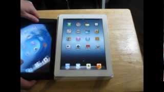New iPad 3 Unboxing 32GB Wifi 3rd Generation