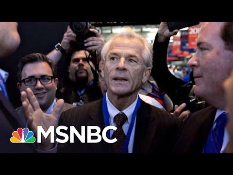 When President Donald Trump Advisor Peter Navarro Was Booted Off Joy's Panel | AM Joy | MSNBC