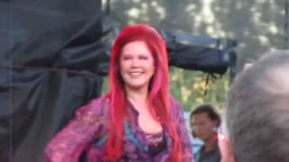 """Planet Claire"" The B52s, Chateau Ste. Michelle Winery, Woodinville, WA. 8/12/10"