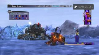 [FFX] Al Bhed Crawler BOSS Battle | Final Fantasy X/10 HD Remastered