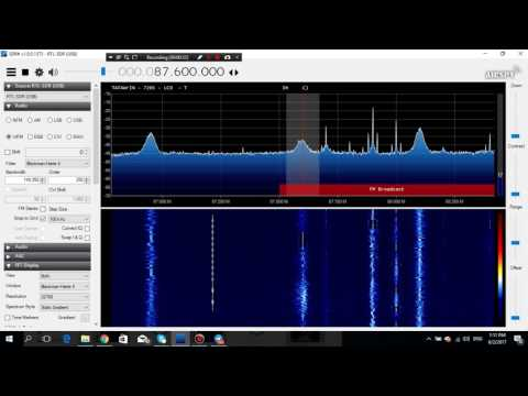 E-Skip 2017.06.02: Radio Tataouine from Tunisia received in Germany in 87.6 MHz FM