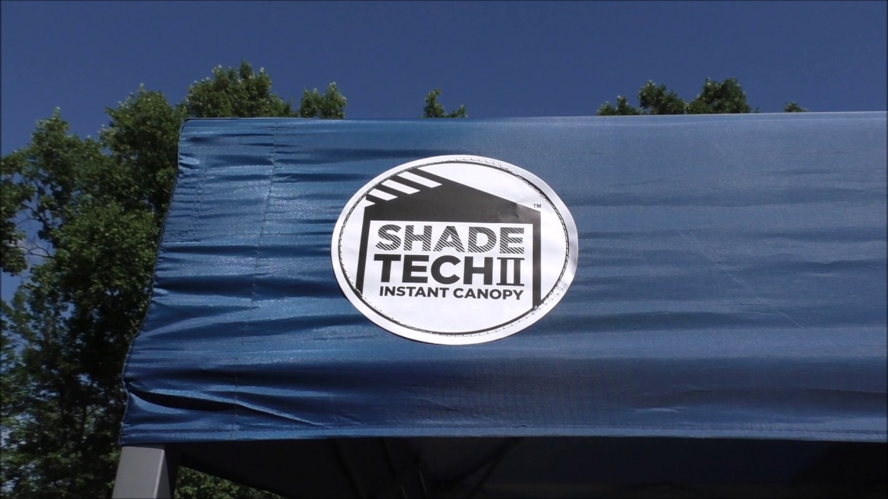 SHADE TECH 8x8 REPLACEMENT CANOPY & SHADE TECH 8x8 REPLACEMENT CANOPY - YouTube
