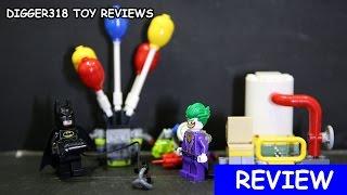 Lego 70900 The Joker Balloon Escape Batman Movie Review