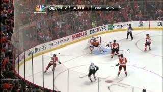 Gambar cover Pittsburgh Penguins vs Philadelphia Flyers | Highlights | 01/19/13