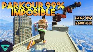 PARKOUR 99.9% IMPOSIBLE | GTA V ONLINE