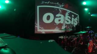 Oasis tribute band ''Definitely Oasis'' Rock N Roll Star live at Glasgow Barrowlands 360