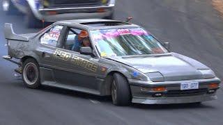 FWD Honda Prelude Drifting (Conorsev)
