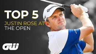 Five Times Justin Rose Showed His Class | The Open Championship | Golfing World