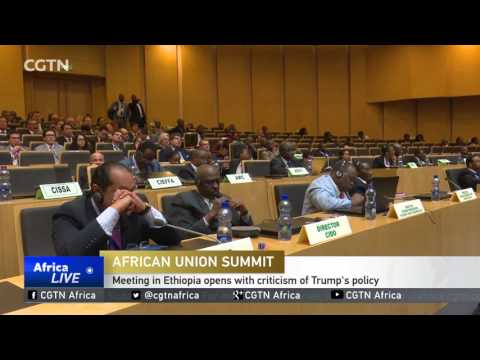 28th AU Summit: Meeting in Ethiopia opens with criticism of Trump's policy
