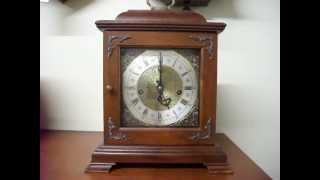 Hamilton Westminster Chime Mantel Clock