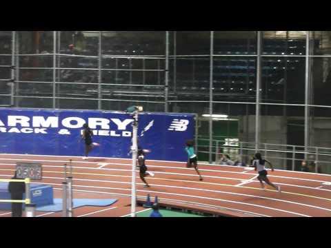 Toni Brown, 3rd In 200M Dash Finals