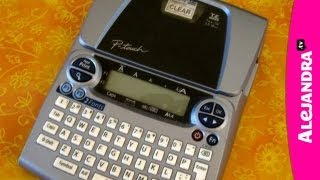 Best Label Maker To Use - Brother P-Touch 1880