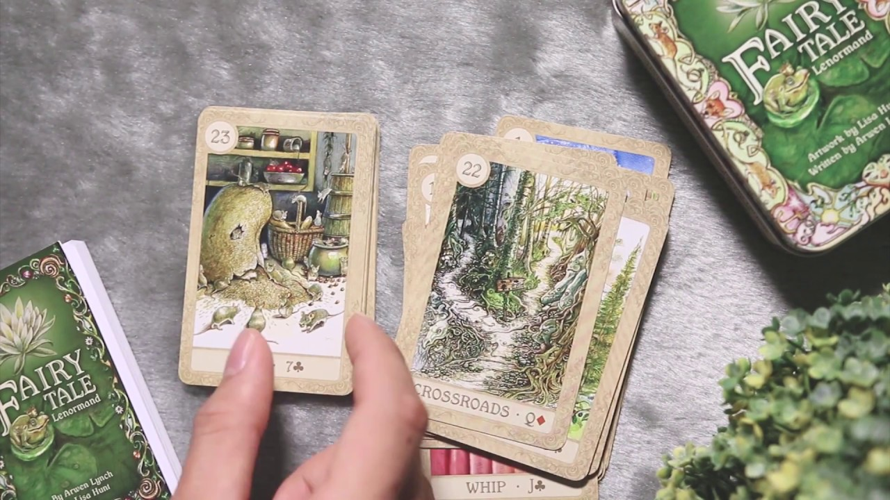 Review Fairy Tale Lenormand by Minh Nhật + Mèo Con
