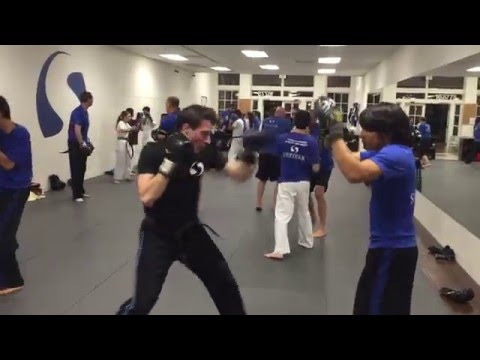 Martial Arts San Diego Boxing Class!