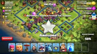 Clash of clans 1000+ troops how to use in attack