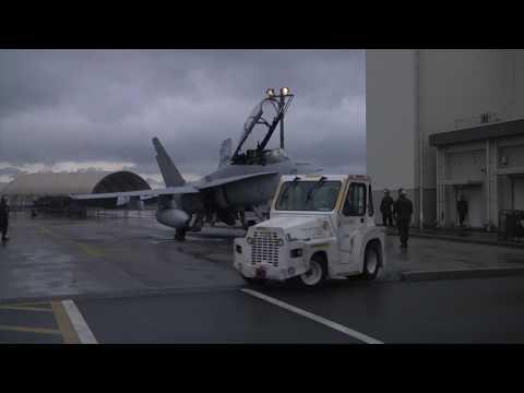 VMFA-242 conducting CBRN training on Marine Corps Air Station Iwakuni (B-Roll)