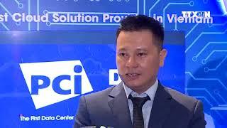 [TTXVN] Ông Lê Anh Vũ - Giám đốc TTKD Giá trị gia tăng trả lời phỏng vấn về nền tảng CMC Multi-Cloud