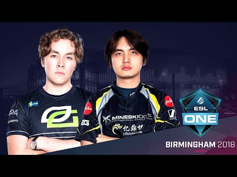 Dota 2 - OpTic Gaming vs. Mineski - Game 3 - Group C Winners' Match - ESL One Birmingham 2018 Day 1