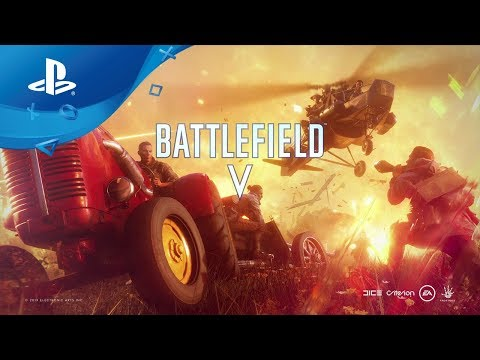 Battlefield V - Feuersturm Trailer deutsch [PS4] thumbnail