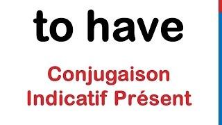 Cours D Anglais 29 To Have Conjugaison Present Affirmatif Negatif Interrogatif Forme Contractee Youtube