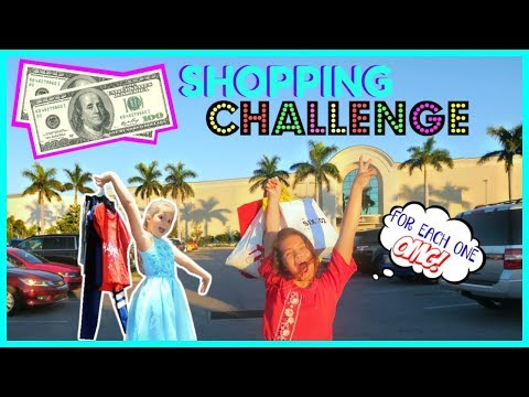 """$200 DOLLAR SHOPPING OUTFITS CHALLENGE """"SISTER FOREVER"""""""