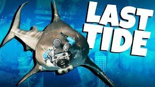 SURVIVING The SHARK ATTACKS! - Last Tide Gameplay