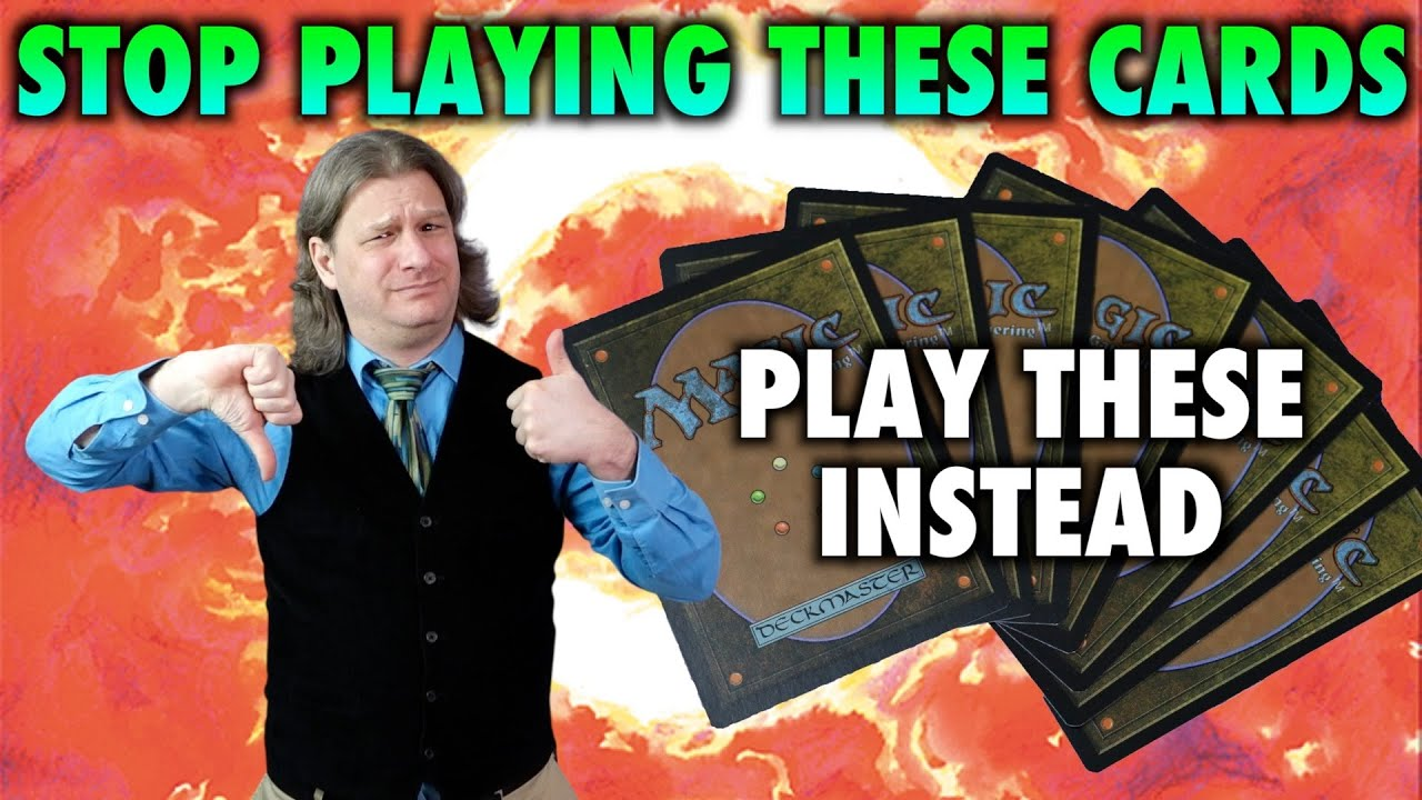 Stop Playing These Cards! Alternatives To Commander Staples   MTG