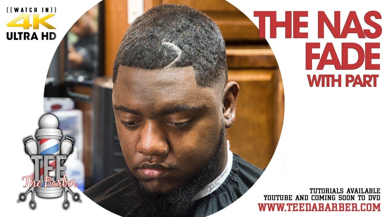 Haircut Tutorial The Nas Fade Bald Fade With Fibers Enhancement