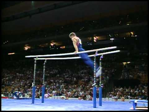 Stephen McCain - Parallel Bars - 1996 Olympic Trials - Men - Day 2