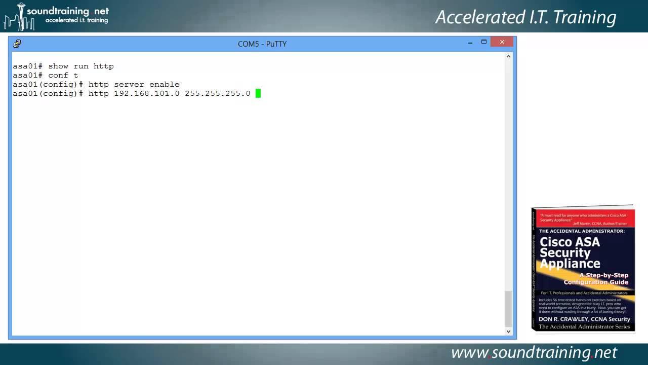 How To Install The Cisco Asa Asdm Launcher Cisco Asa Training 101