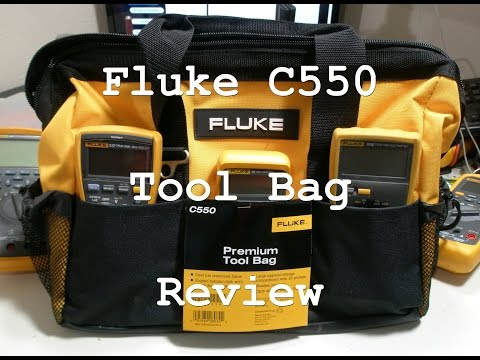 ACF 009: Fluke C550 tool bag review Part 2 How many meters will hold?