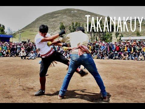Takanakuy - Peru's fighting festival