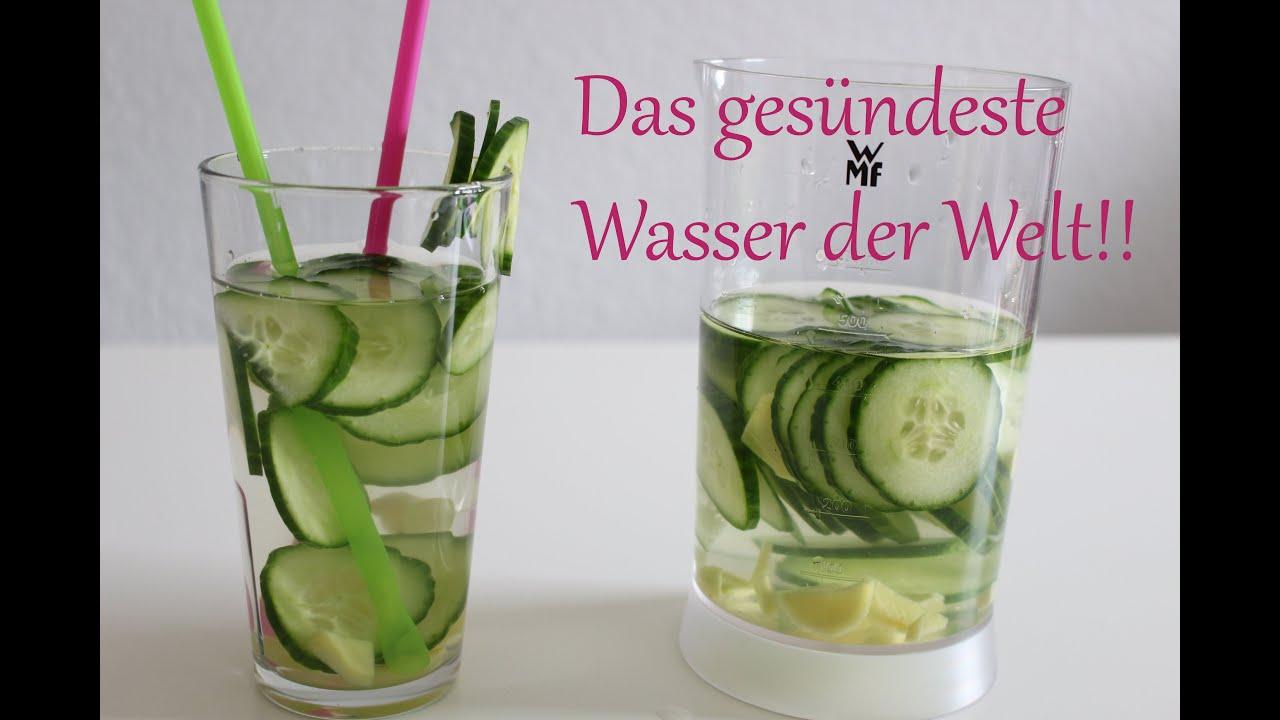 Gurkenwasser Das gesündeste Wasser der Welt! Cucumber water the healthiest water in the  ~ 01000848_Sukkulenten Ableger In Wasser