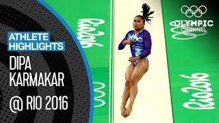 Indian Gymnast Dipa Karmakar's Sensational Show At Rio 2016 | Athlete Highlights