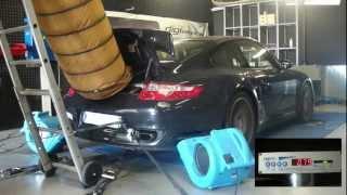 Porsche 997 turbo 480cv @ 578cv reprogrammation moteur dyno digiservices