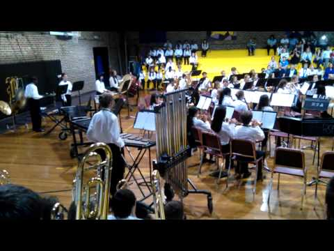 Rollings Middle School of the Arts Encore Band - Part 2 - April, 2015