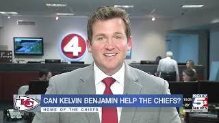 Chiefs sign free-agent receiver Kelvin Benjamin