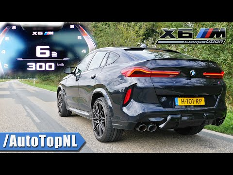 BMW X6M Competition *0-300KM/H* ACCELERATION TOP SPEED & SOUND by AutoTopNL
