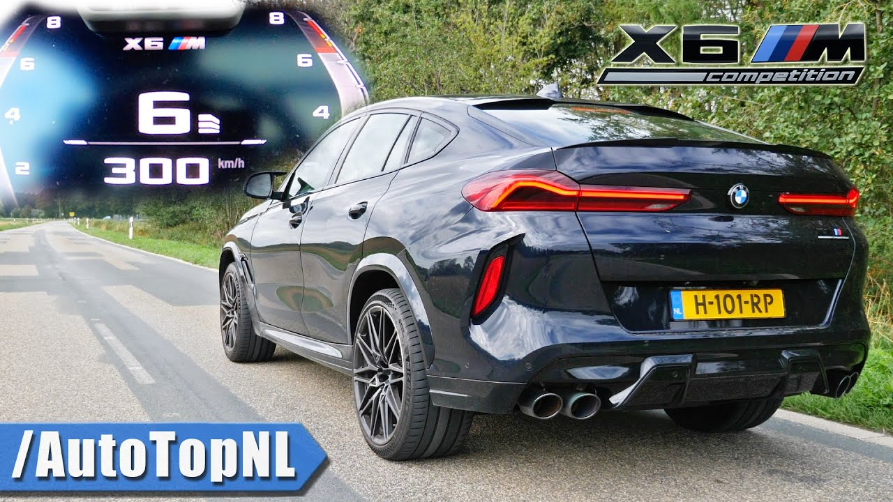 Bmw X6m Competition 0 300km H Acceleration Top Speed Sound By Autotopnl Youtube