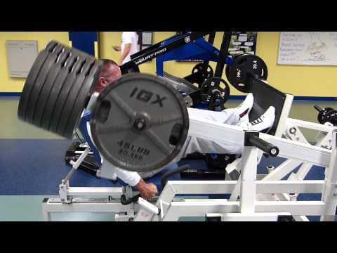 MedX Avenger 14 plates for 13 reps. Record.