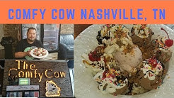 Ice Cream at Comfy Cow in Nashville TN for Easter 2018