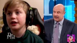 Crazy Fortnite Kid sur le Dr Phil obtient DESTROYED