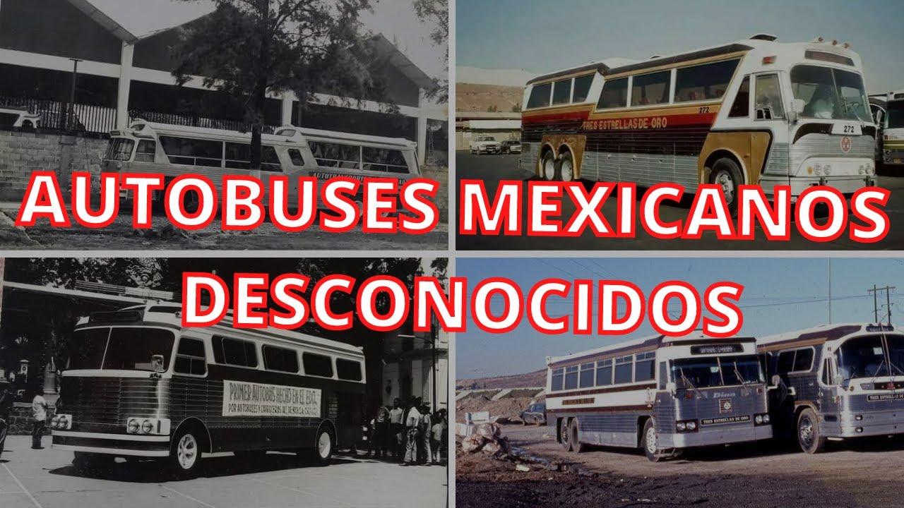 LA DESCONOCIDA HISTORIA DE ESTOS MODELOS DE AUTOBUSES
