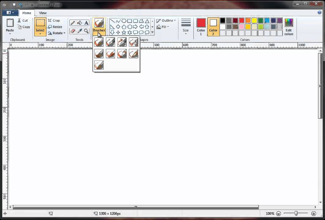 Tutorial Learn How To Use Microsoft Paint The Right Way Youtube