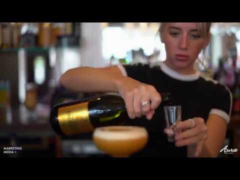 The BEST Pornstar Martini Cocktail - Aura Bar & Lounge