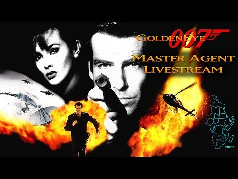 GoldenEye 007 N64 - Master Agent Livestream - Real N64 Capture