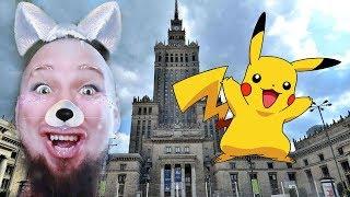 Faja łapie POKEMONY w Warszawie !!!