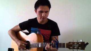 Frank Ocean - Thinking About You ( Solo Guitar ) - John Le