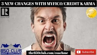 3 New Changes With MyFICO & Credit Karma That Will Upset You - UltraFICO,Business,One,2019